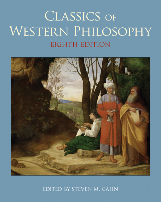 Classics of Western Philosophy cover iamge