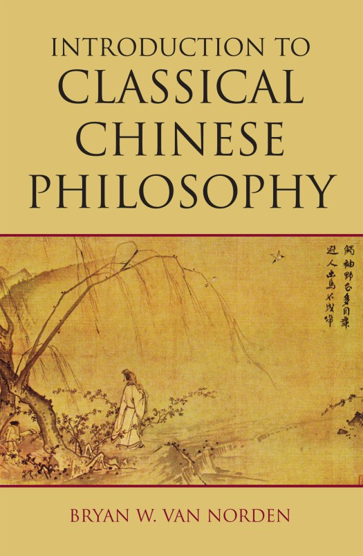 Intro to classical chinese philosophy cover image