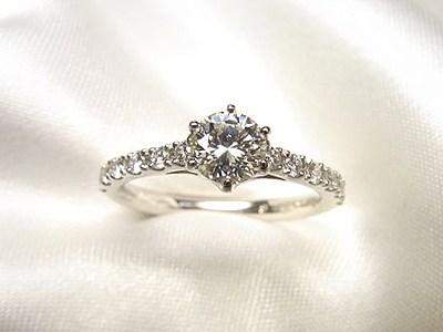 ご婚約指輪はおばあちゃんのダイヤをリフォーム【神戸 元町】