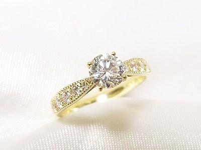 立爪のダイヤを次世代のご婚約指輪にリフォーム【神戸 元町】