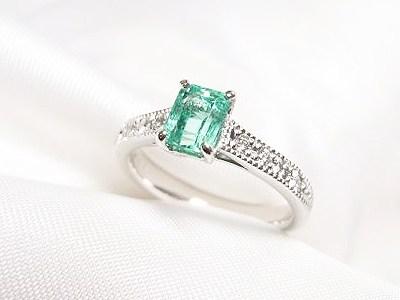 立爪ダイヤリングと色石&真珠のリフォーム【神戸 元町】