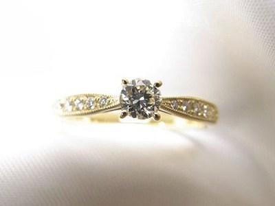 ご夫妻の思い出のダイヤモンドリングをリフォーム【神戸 元町】