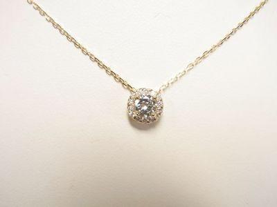 ダイヤモンドルースからキラキラペンダントとピアスへのリフォーム【神戸 元町】