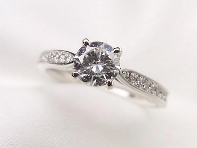 0.4ctUPお母様のダイヤモンドリングをご婚約指輪へリフォーム【神戸 元町】