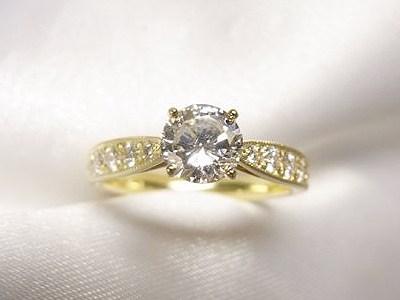 立爪ダイヤモンドリング2点をK18製リング&ペンダントへリフォーム【神戸 元町】