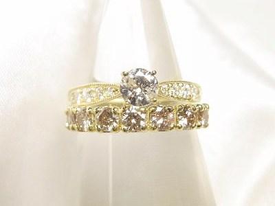 思い出のダイヤモンドリングを華やかにリフォーム【神戸 元町】