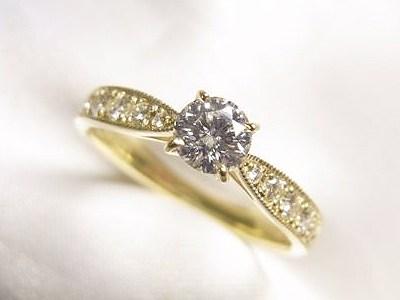 0.31ctダイヤモンドをリフォームしてお嬢様とシェア【神戸 元町】