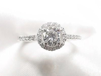 0.35ctご婚約指輪と0.12ctダイヤモンドペンダントのリフォーム【神戸 元町】