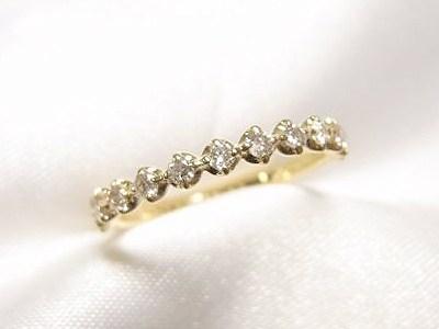 ゴージャスすぎるダイヤモンドペンダントを2つのリングへリフォーム【神戸 元町】