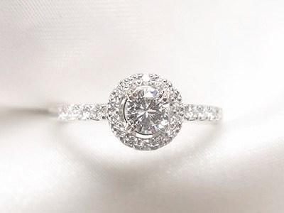花嫁の母のダイヤモンドリングリフォーム【神戸 元町】