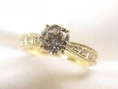 お母様のダイヤモンドをお嬢様のエンゲージリングへリフォーム【神戸 元町】