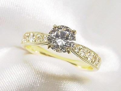 滋賀県からご婚約指輪へのダイヤリフォーム【神戸 元町】