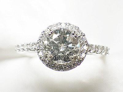 立爪のご婚約指輪と一文字リングをおしゃれにリフォーム【神戸 元町】