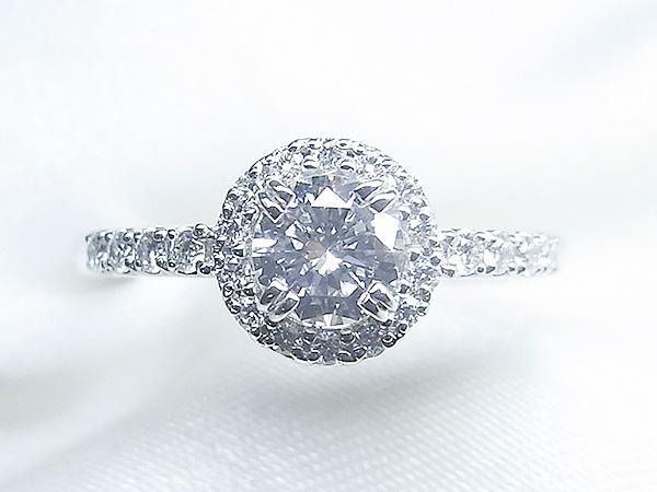 ご家族のダイヤをキラキラエンゲージリングへリフォーム【神戸 元町】