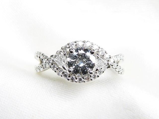 銀婚式記念にダイヤモンドをリフォーム 【神戸 元町】