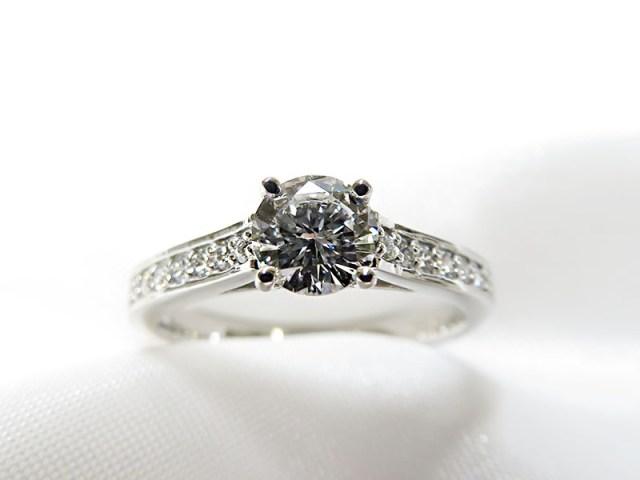 婚約指輪リフォーム*0.5ctダイヤモンドリング【神戸 元町】