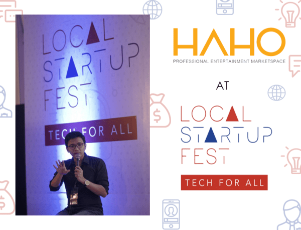 Andy Permana, Founder & CEO HAHO - startup