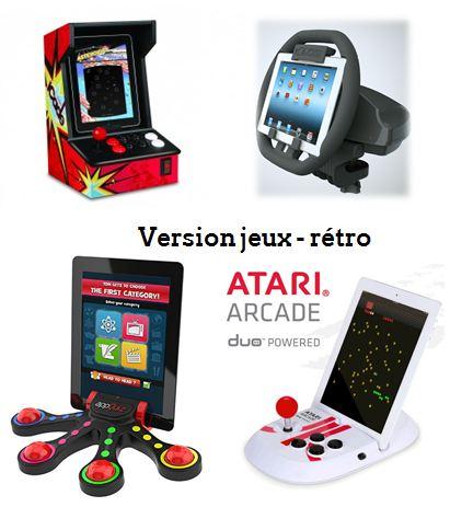 Tablette version jeux-rétro