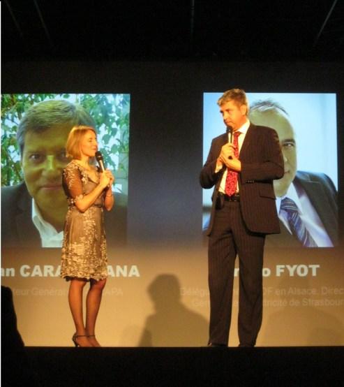 Eric Gehl, talent d'avenir remise de prix fond'action Alsace