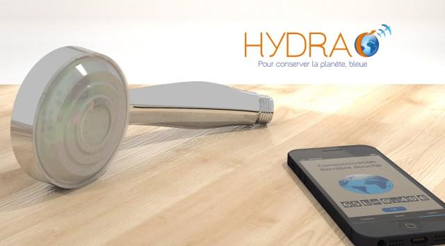 Hydrao la douche intelligente de votre smart home