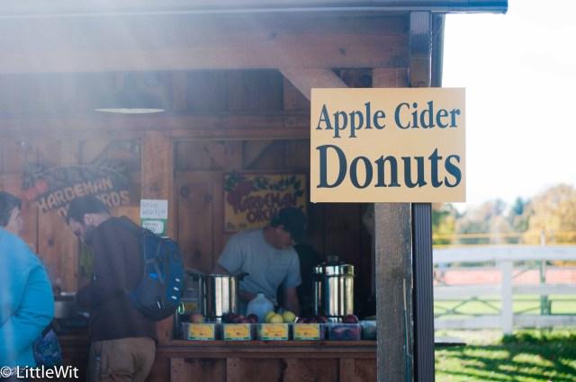 Apple Cider Donut stand