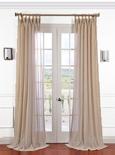 Is Linen the Perfect Fabric For Custom Draperies?