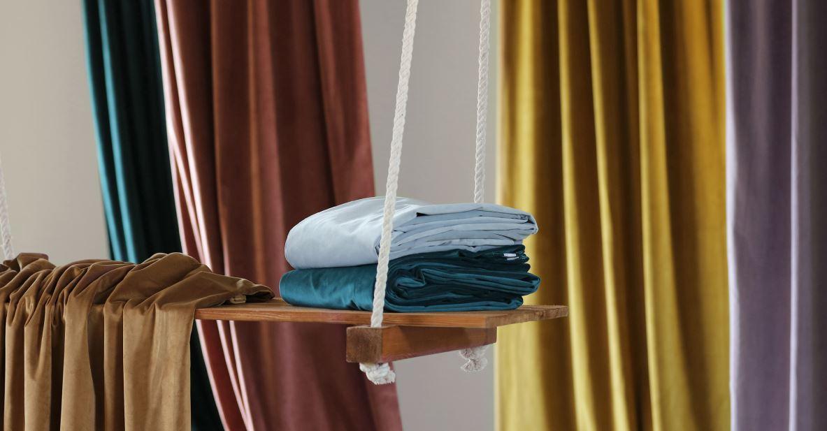 jewel tone velvet drapes