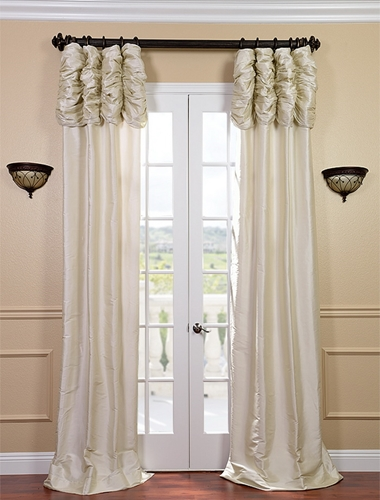 Size matters when selecting curtains