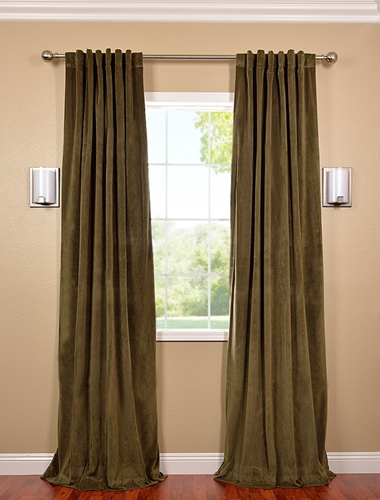 Too much noise outside? Help to block it with velvet blackout drapes