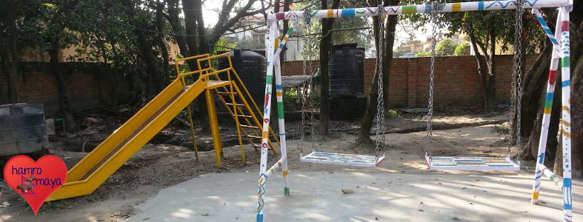 Spielplatz in der Behindertenschule