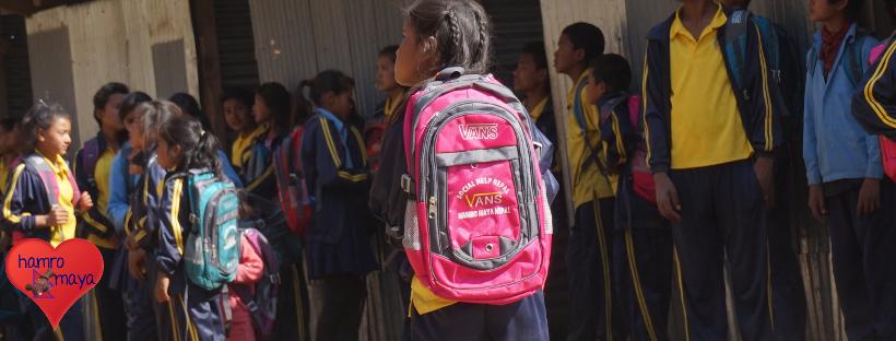 Schultaschen Projekt in Sindhupalchowk_1