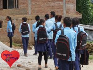 Wir erleichtern den Kindern ihren Schulweg.
