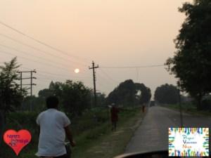 Sonnenuntergang in Nepalganj