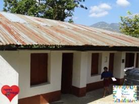 Die fertiggestellte Schule im November 2017.