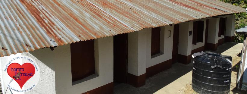 Schulbau-Projekt im Dorf Ikudol fertiggestellt.