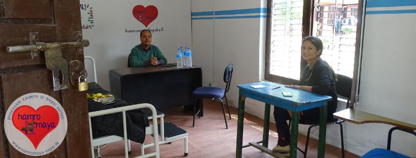 Medical Camp 2018 in der Behindertenschule