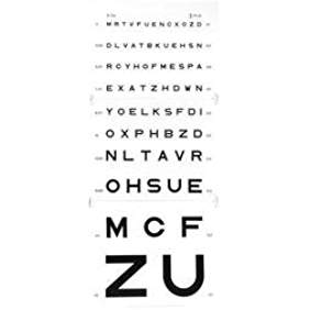 echelle optometrique