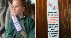 Read more about the article Secours – une housse de ceinture pour informer d'un handicap