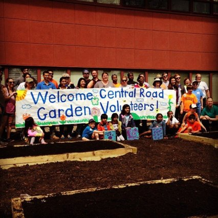 Central Road School Garden Project