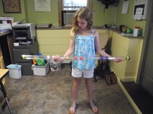 The Vision Tracking Tube is a fun challenge for older students!