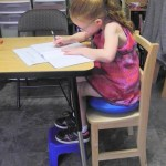 Seating height is an important link to handwriting mastery!
