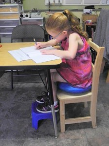 Seating height is an important link to correct posture!