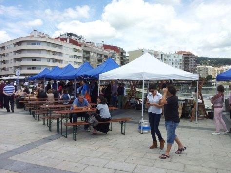 Puestos - Feria de Cerveza Artesana de Sanxenxo