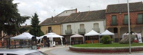 Stands de la Feria de Aguilafuente de Cerveza Artesana