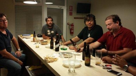 Hanselbier y los cerveceros Alicantinos