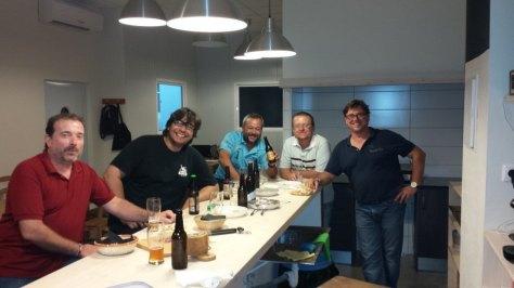 Cerveceros Alicantinos en Exulans