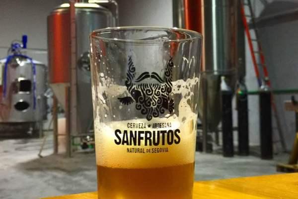 Cerveza Artesana Sanfrutos - Segovia
