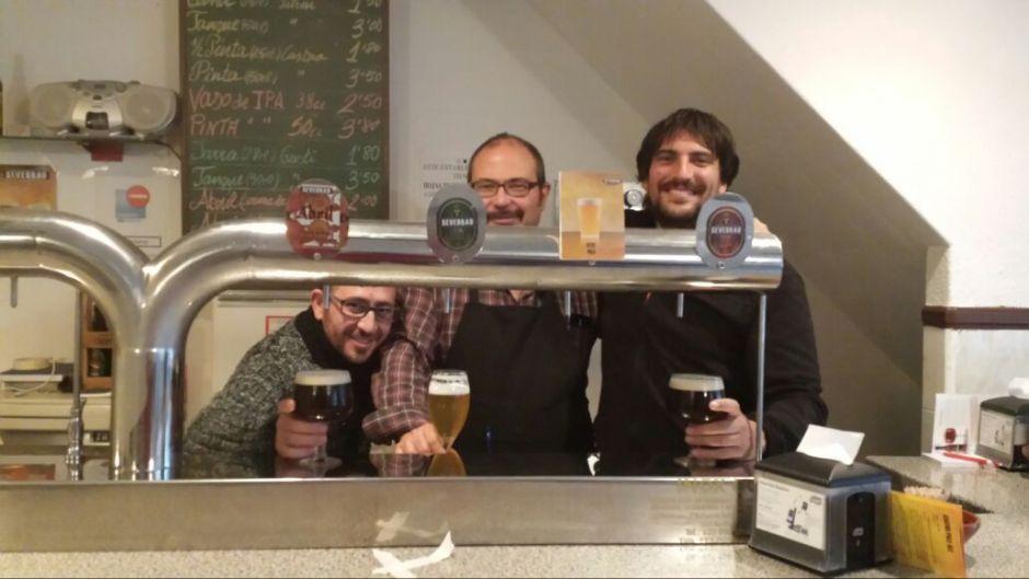 Grifos de cerveza de Sevebrau