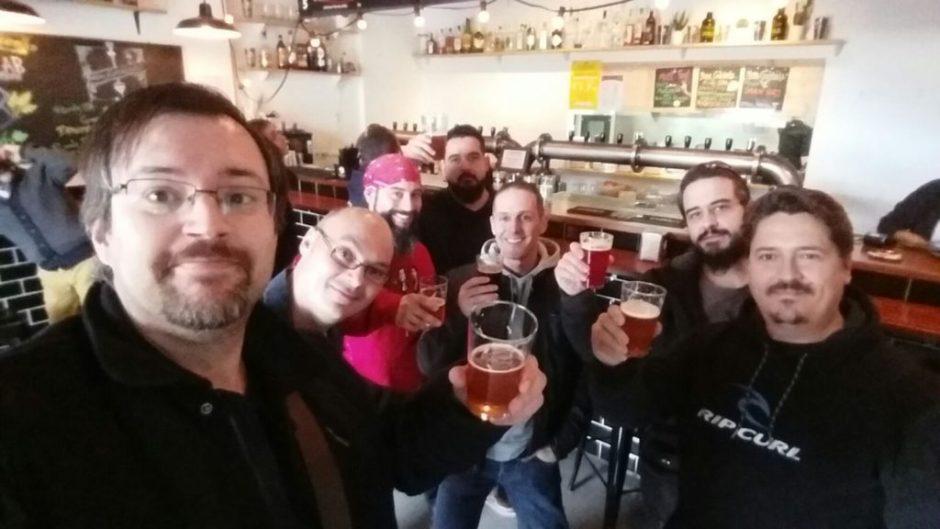 Jueces BJCP Llenando un bar de Burgos