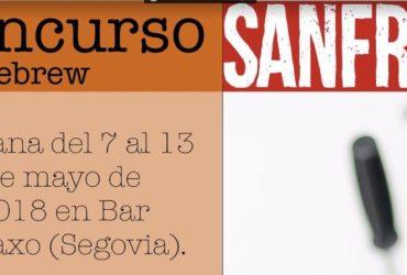 I concurso homebrew sanfrutos - Segovia